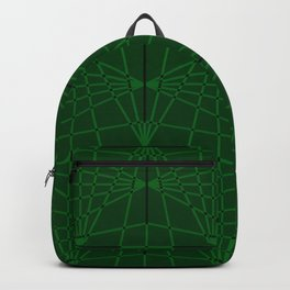 ELEGANT GREENERY GEOMETRICAL DIAMONDS Backpack