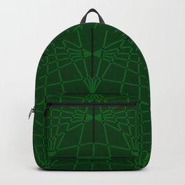 ELEGANT GREENERY GEOMETRICAL DIAMONDS Backpack