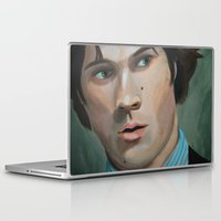 sam winchester Laptop & iPad Skins featuring Bedtime Stories (Sam Winchester) by Lauren Craig