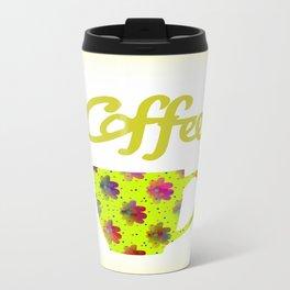 Wake Up To Coffee Travel Mug