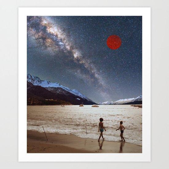 Red Planet Art Print