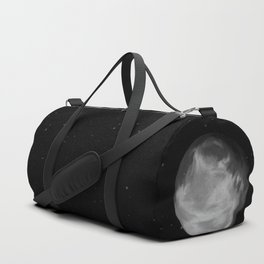 Talking to the moon Duffle Bag
