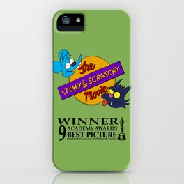 THE SIMPSON S - The Itchy & Scratchy Movie iPhone Case