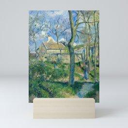 "Camille Pissarro ""The Path to Les Pouilleux, Pontoise"" Mini Art Print"