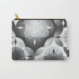 Achromatic Diamonds Carry-All Pouch