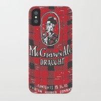 ale giorgini iPhone & iPod Cases featuring McGraws Ale by Moto