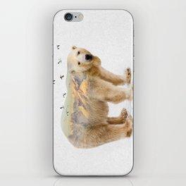 Wild I Shall Stay   Polar Bear iPhone Skin