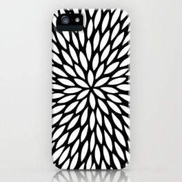 White Leaves iPhone Case