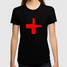 Red Beer Cross T-shirt
