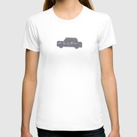 car T-shirts featuring Car by sinonelineman