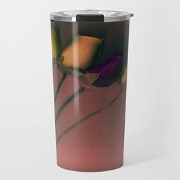 Plastic Flowers Travel Mug