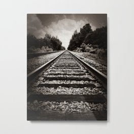 Slow train to forever Metal Print