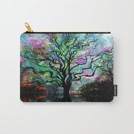 Van Goghs Aurora Borealis Reflection Carry-All Pouch