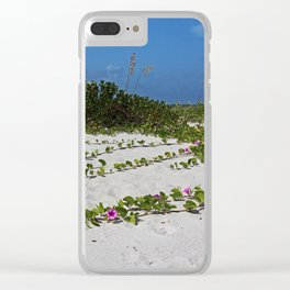 Railroad Vines on Boca I Clear iPhone Case
