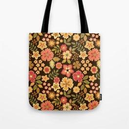 Mini Flowers Tote Bag