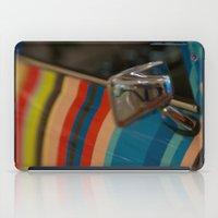 mini cooper iPad Cases featuring Striped Mini Cooper by kendellvictoria