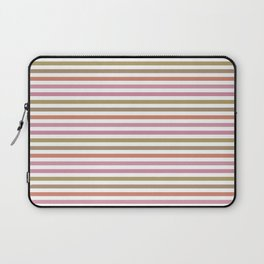 Pink Roses in Anzures 2 Stripes 1H Laptop Sleeve