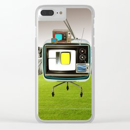 the truth is dead · the flying circus Clear iPhone Case
