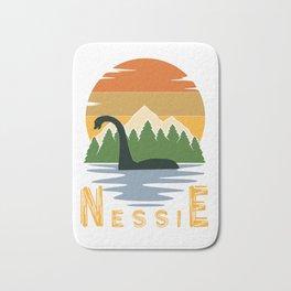 Nessie vintage sunset Bath Mat