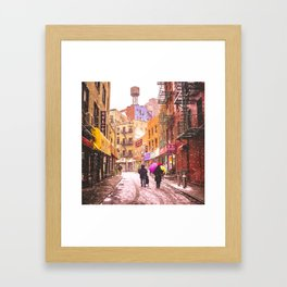 The Colors of Winter - New York City Framed Art Print