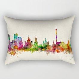 Moscow Russia Skyline Rectangular Pillow