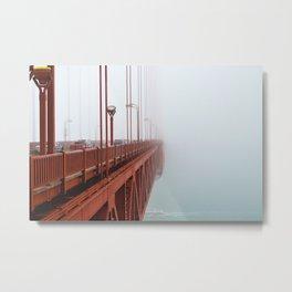 Into The Fog Metal Print