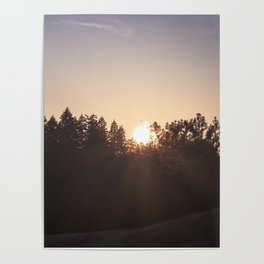 That warm summer glow Poster