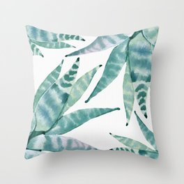 Desert Succulents Throw Pillow
