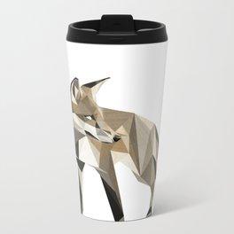 the sad fox Metal Travel Mug
