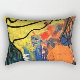 Abstract City Rectangular Pillow