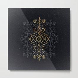 Golden Echo Metal Print