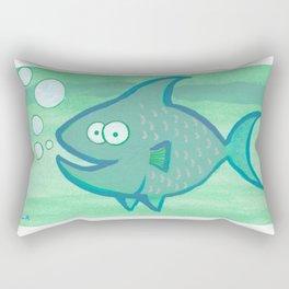 Happy Fish!!!! Rectangular Pillow