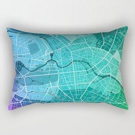 Berlin Map (Colour Gradient) Rectangular Pillow
