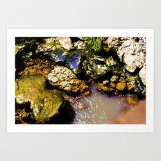 Just Rocks  Art Print