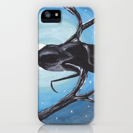Reaper in the Moonlight  iPhone Case