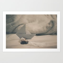 Childhood Stories by Omerika Art Print
