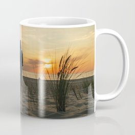 Beautiful sunset on the beach Coffee Mug