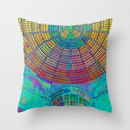 Italy Mosaic Throw Pillow