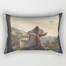 Wonderful World of Teddy Rectangular Pillow