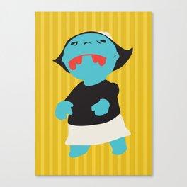 Zombie Betty Canvas Print