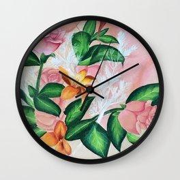 Nature Nurturing Mankind Wall Clock