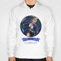 league of legends Hoodies featuring League Of Legends - Janna by TheDrawingDuo