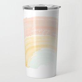 Choose Joy Rainbow Travel Mug