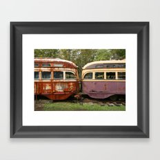 Fender Bender Framed Art Print