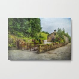 Country Stables Metal Print