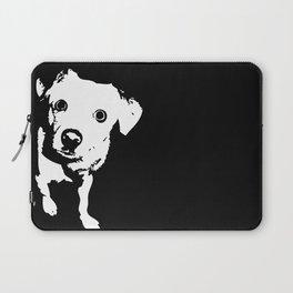Graphic Dog | Black & White Laptop Sleeve