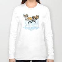 return Long Sleeve T-shirts featuring Return by SilverBaX