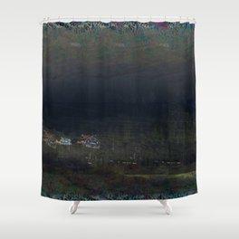 mountain cribs Shower Curtain
