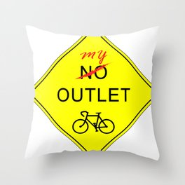 My Outlet Throw Pillow