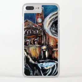 Haunted Evening Clear iPhone Case